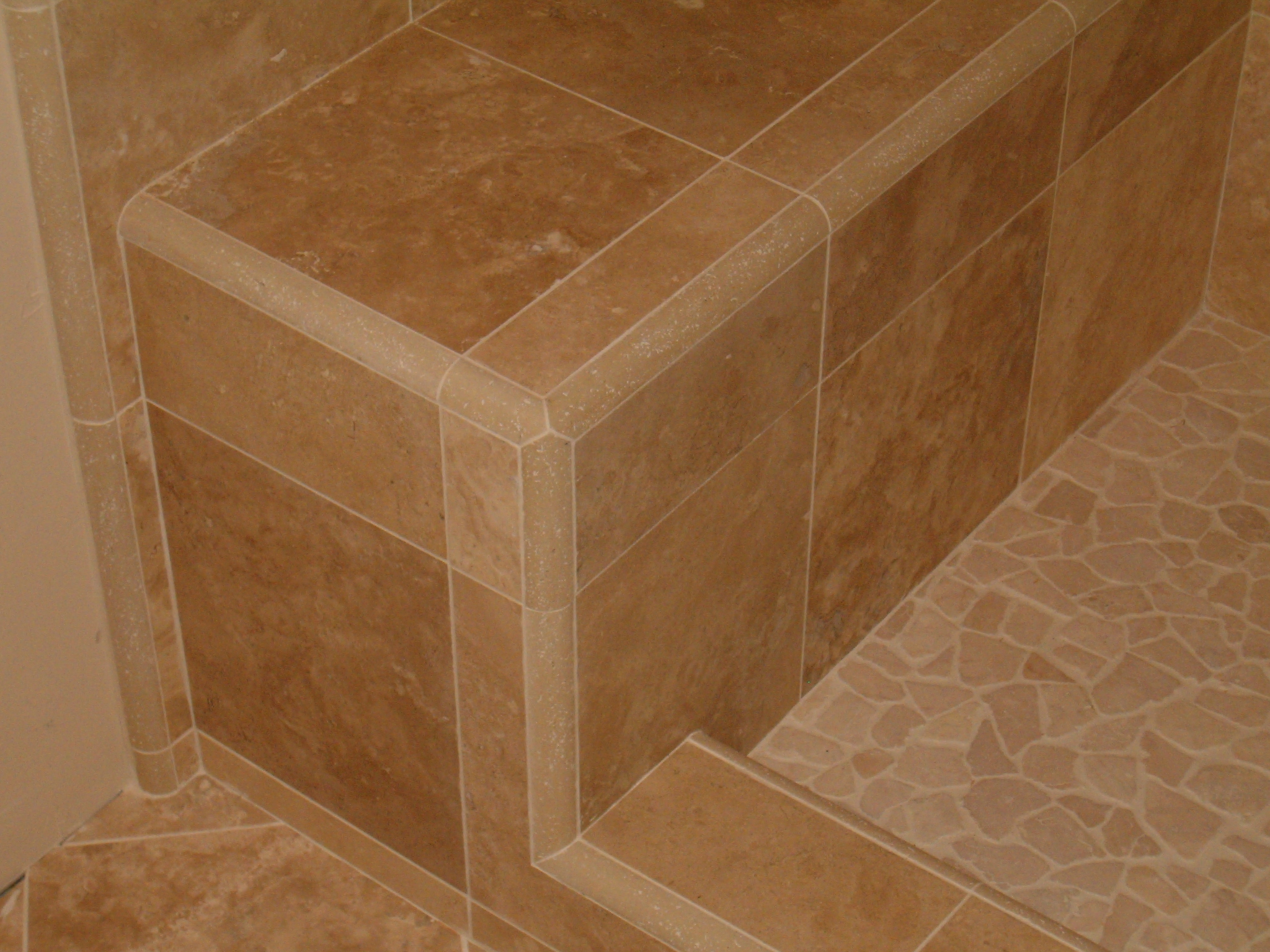 Of posts ceramic tile advice forums john bridge ceramic tile - Miter 3 Quarter Rounds At A 120 Degree Angle To Each Other