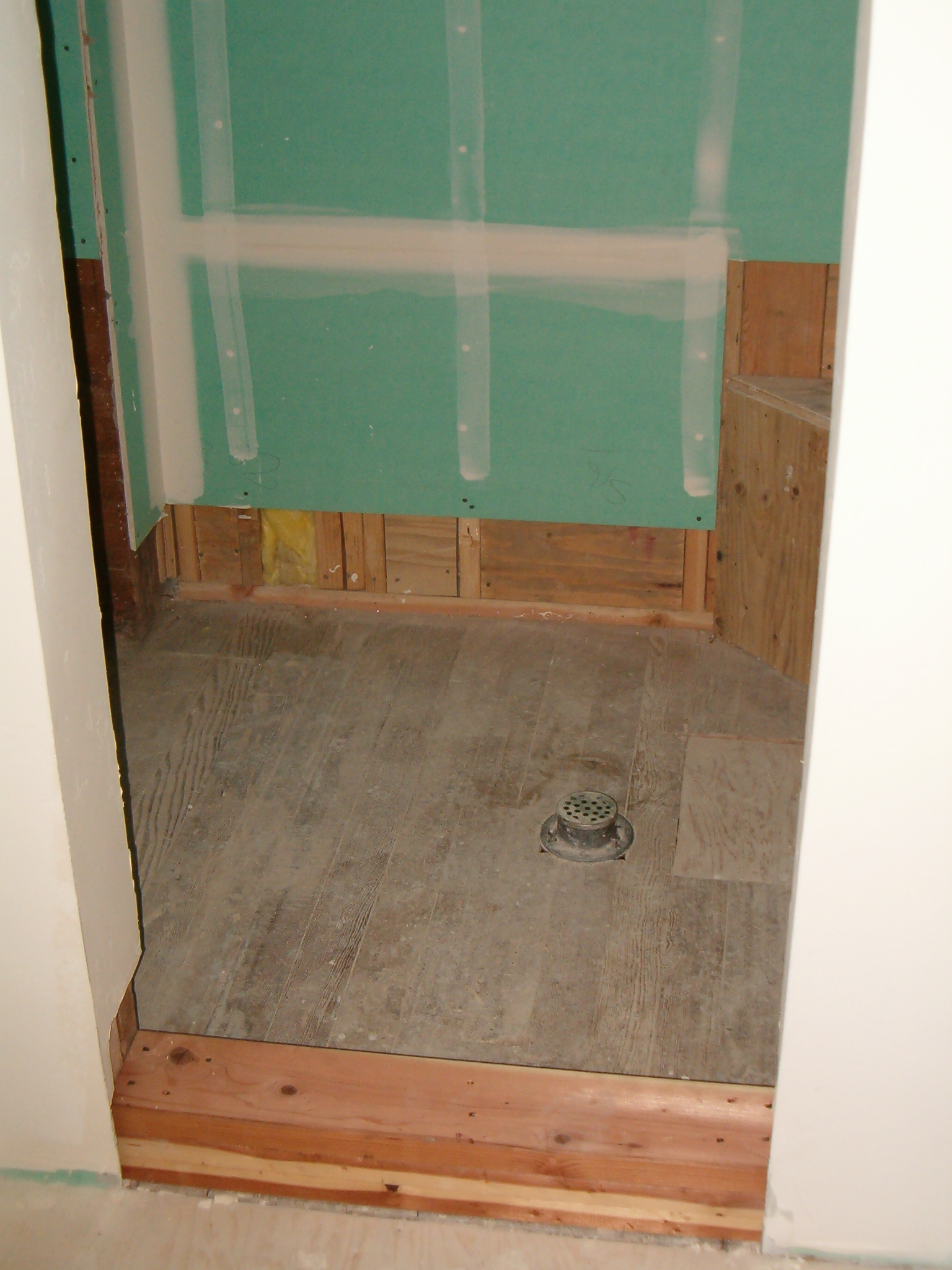 Anatomy this is what a shower looks like when it is ready for the tile setter to start dailygadgetfo Gallery